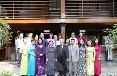 Hình ảnh Tổng Bí thư, Chủ tịch nước dâng hương tại Nhà 67