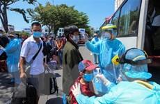 Khánh Hòa đón công dân dân mắc kẹt tại tâm dịch trở về địa phương