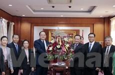 Lãnh đạo các bộ, ngành của Lào chúc mừng 75 năm Quốc khánh 2/9