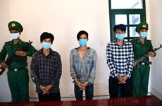 Bắt nhóm đối tượng tổ chức đưa người nhập cảnh trái phép vào Việt Nam