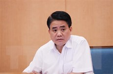 Ông Nguyễn Đức Chung bị tạm đình chỉ tư cách đại biểu HĐND Hà Nội