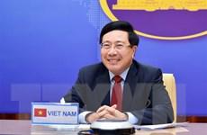 Phó Thủ tướng, Ngoại trưởng Việt Nam-Thái Lan hội đàm trực tuyến