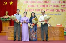 Bầu bổ sung Phó Chủ tịch Hội đồng nhân dân tỉnh Kiên Giang