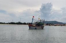 Tìm kiếm, cứu nạn các thuyền viên trên tàu cá bị chìm ngoài khơi