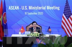 Hội nghị trực tuyến Bộ trưởng Ngoại giao ASEAN-Hoa Kỳ, ASEAN-Canada