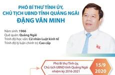 Phó Bí thư Tỉnh ủy, Chủ tịch UBND tỉnh Quảng Ngãi Đặng Văn Minh