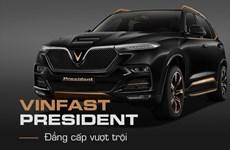 SUV hạng sang VinFast President - sản phẩm giới hạn cho người thủ lĩnh