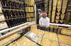 Giá vàng trên thị trường thế giới tăng tuần thứ hai liên tiếp