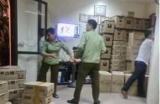 Hà Nội: Thu giữ số lượng lớn sữa chua không rõ nguồn gốc