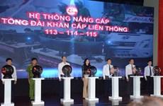 Thành phố Hồ Chí Minh ra mắt Tổng đài khẩn cấp liên thông 113-114-115
