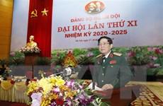 Bế mạc Đại hội đại biểu Đảng bộ Quân đội lần thứ XI nhiệm kỳ 2020-2025