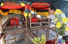 An táng 4 hài cốt liệt sỹ hy sinh trên chiến trường Quảng Trị