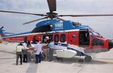 Chuyến bay cấp cứu đưa bệnh nhân từ Trường Sa về đất liền
