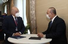 Ngoại trưởng Thổ Nhĩ Kỳ và Hy Lạp gặp nhau lần đầu từ khi khủng hoảng