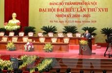 Phiên trù bị Đại hội đại biểu lần thứ XVII Đảng bộ thành phố Hà Nội