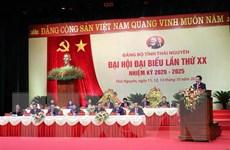 Khai mạc Đại hội Đại biểu Đảng bộ tỉnh Thái Nguyên lần thứ XX