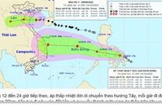 Xuất hiện áp thấp nhiệt đới mới khả năng mạnh lên thành bão số 8