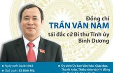 [Infographics] Ông Trần Văn Nam tái đắc cử Bí thư Tỉnh ủy Bình Dương