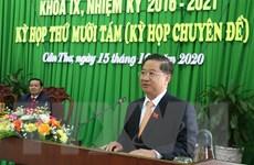 Ông Trần Việt Trường được bầu giữ chức Chủ tịch UBND thành phố Cần Thơ