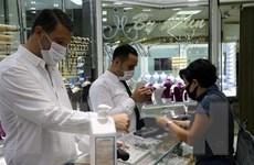 Giá vàng thế giới tăng gần 1% sau khi sụt giảm mạnh