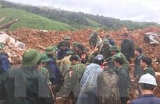 Vụ sạt lở nghiêm trọng ở Quảng Trị: Đã tiếp cận được hiện trường
