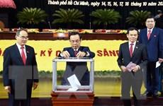 Đảng bộ Thành phố Hồ Chí Minh quyên góp ủng hộ đồng bào miền Trung