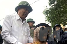 PTT Trương Hòa Bình chỉ đạo khắc phục hậu quả lũ lụt ở Quảng Trị