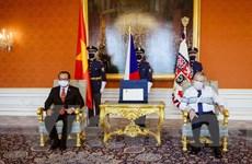 Tổng thống Séc đánh giá cao sự phát triển hợp tác với Việt Nam
