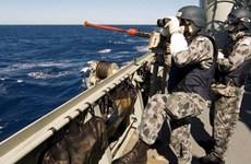 Australia chấm dứt hoạt động của lực lượng hải quân tại Trung Đông