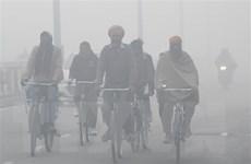 Khói mù bao trùm cả thủ đô New Delhi của Ấn Độ