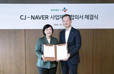Naver và CJ Group ký thỏa thuận hoán đổi cổ phần trị giá 531 triệu USD