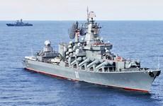 Đội tàu chiến Nga tuần tra khu vực châu Á-Thái Bình Dương