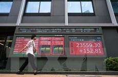 Sáng 2/11 chứng khoán Nhật Bản và Trung Quốc đồng loạt đi lên