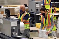 Bầu cử Mỹ: Thẩm phán bác đề nghị dừng kiểm phiếu tại Philadelphia