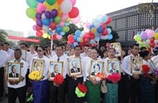 Chính phủ và Quốc hội Việt Nam chúc mừng Quốc khánh Campuchia