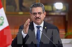Tổng thống lâm thời Peru Manuel Merino từ chức sau 5 ngày nắm quyền