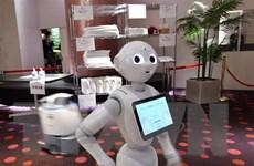 Nhật Bản tiến tới sử dụng robot nhắc nhở người dân đeo khẩu trang