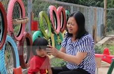 Đưa con chữ đến với ''bản đa không'' nơi biên giới Việt-Lào