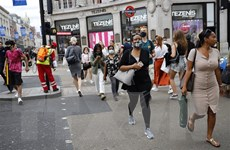 Nước Anh dự kiến ghi nhận mức vay nợ cao nhất trong thời bình