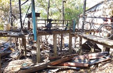 An Giang: Hỏa hoạn thiêu rụi căn nhà làm một người tử vong