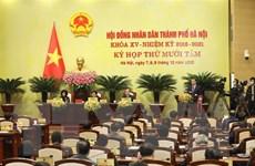 Khai mạc Kỳ họp thứ 18 Hội đồng Nhân dân thành phố Hà Nội khóa XV