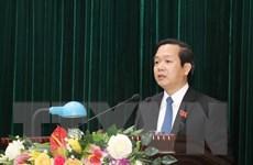 Ông Phạm Quang Ngọc được bầu giữ chức Chủ tịch UBND tỉnh Ninh Bình