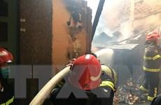 TP.HCM: Hỏa hoạn tại căn nhà trong hẻm, cháy lan sang 4 căn liền kề