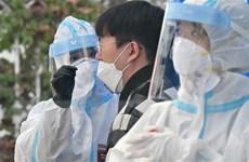 Số ca nhiễm mới ở Hàn Quốc giảm xuống dưới mức 1.000 ca mỗi ngày