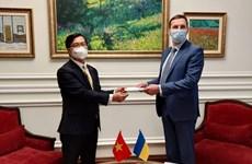 Ukraine đánh giá tích cực quan hệ hữu nghị và hợp tác với Việt Nam