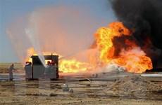 Iraq kiểm soát 2 giếng dầu bị các phần tử khủng bố phóng hỏa