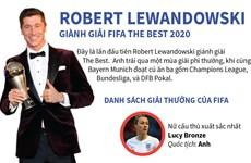 Chân dung Robert Lewandowski - Cầu thủ hay nhất năm của FIFA