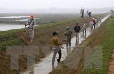 Bảo đảm nguồn nước sản xuất vụ Đông Xuân 2020-2021