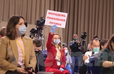 Khoảnh khắc ấn tượng tại họp báo thường niên của Tổng thống Nga