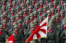 Chính phủ Nhật Bản thông qua ngân sách quốc phòng cao kỷ lục